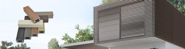 WOODALUX το καινοτόμο δομικό υλικό για αποτελεσματική σκίαση και μοντέρνα διακόσμηση κτιρίων.