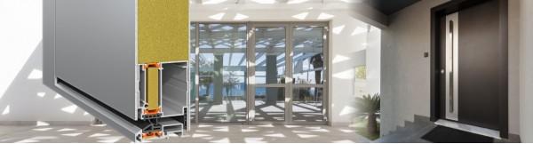 Θερμομονωτικό σύστημα πορτών εισόδου SMARTIA MD67